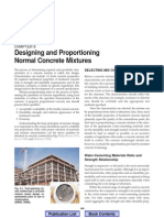 Design and Control Concrete