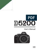Nikon D5200 manual