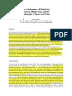 [Dieks] the Adolecence of Relativity