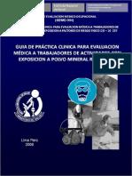5) Gemo-004 Guia de Evaluacion Por Exposicion a Polvo