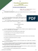 L9099-95 JUIZADOS ESPECIAIS CÍVEIS E CRIMINAIS