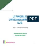 Ley Financiera de Capitalización Compuesta