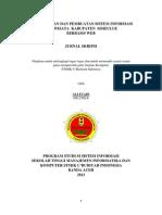 ALI FUADI-Jurnal Skripsi-perancangan Dan Pembuatan Sistem Informasi Pariwisata Kabupaten Simeulue