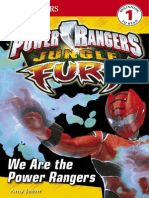 Power Rangers - Jungle Fury,  book about favorite rangers