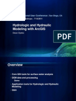 Hydrological Modeling in Gis