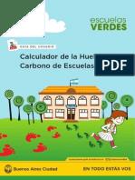Calculador de la Huella de Carbono de Escuelas Verdes - Guía para el usuario