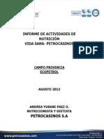 Informe Nutricion y Salud Provincia
