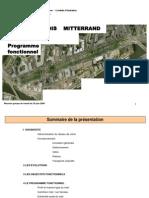 Réunion 24 06 2009 programme fonctionnel