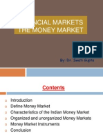 Financial Markets-The Money Market