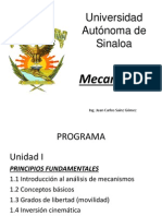 Desarrollo de Programa de Mecanismos (1)