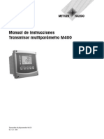 BA Transmitter M400 Multiparameter ES Dec2011