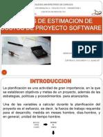 Tecnicas de Estimacion de Costos de Proyecto de Software1