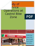 Research report on Castrol Bike Zone