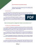 Avantaje Si Riscuri Ale Tranzactiilor Pe Piata Futures