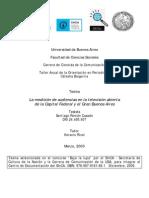 CASADO, S. - La medición de audiencias en la televisión abierta de la Capital Federal y el Gran Buenos Aires
