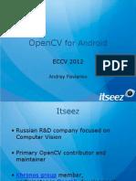 ECCV-2012-OpenCV4Android