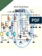 UHF SPY BUG TRANSMITTER