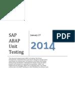ABAP Unit Test Driven Development