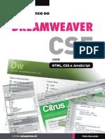 o guia prático do dreamweaver cs5 com html, css e javascript