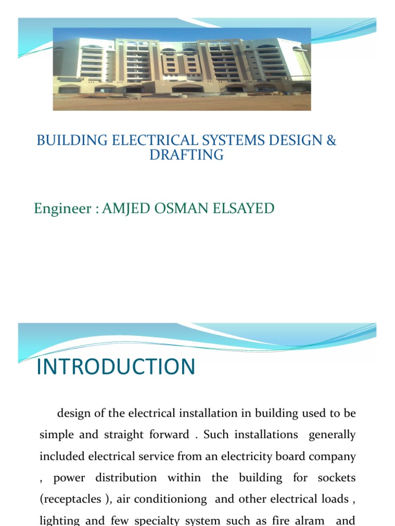 BUILDING ELECTRICAL SYSTEMS DESIGN & DRAFTING | Electric Power ...