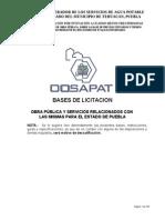 Bases Concurso Estatal Oosapat