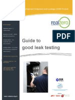 Real Zero Guide to Good Leak Testing