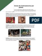 Grupos étnicos de Centroamerica por países