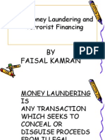 Anti-Money Laundering and Terrorist Financing