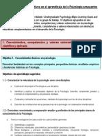 Perfil Apa Del Licenciado en Psicologia
