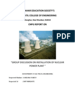 project report for power plant presentation