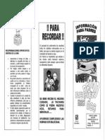 Hsp-do-260-004 Informacion Para Padres