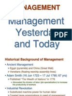 Rev Ppt02-Management Yesterday and Today
