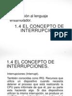 1.4 Al 1.7 El Concepto de Interrupciones