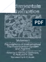 Volumen1. Fundamentals of Mathematics.