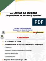 Salud Bogota Adriana Rodriguez