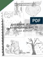Dnevnik Jednog Audiolingviste - Nada Domski, I Deo
