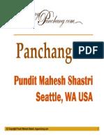 Learn to read Hindu Panchang, Panchanga, Panchangam