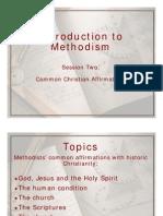 Intro Methodism 2-Common Affirmations