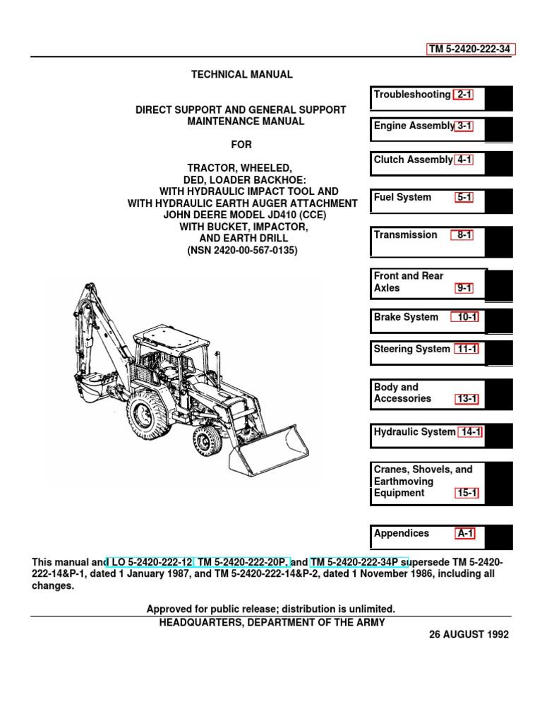 For A Jd 410b Wiring Diagram | Wiring Liry Need Wiring Diagram John Deere on