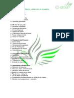 Gestión y dirección de proyectos -TEMARIO