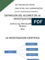 Definicion Del Alcance de La Investigacion 5