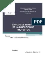 Marcos de Trabajo de la Dirección de Proyectos