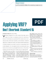 Application of VRF Systems