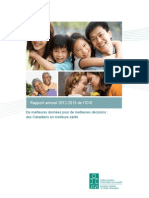 Rapport annuel 2012-2013 ICIS