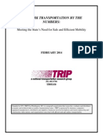 NY Transportation by the Numbers TRIP Report Feb 2014