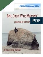 Brrokshaven National Lab 4FO 6 Parker BNL Direct Wind Magnets