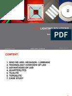 Tx_scribdHexagon Luminanz LED Catalogue