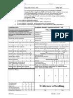 2014 WSSF Judging Rubric