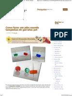 Como fazer um pião usando tampinhas de garrafas pet - Vila do Artesão