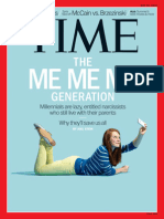 The Me Generation -- Printout -- TIME